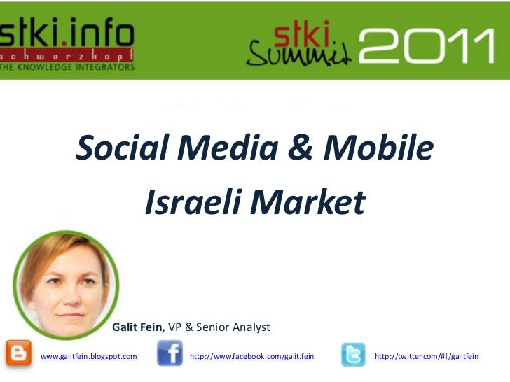 Social media and mobile presentation 2011