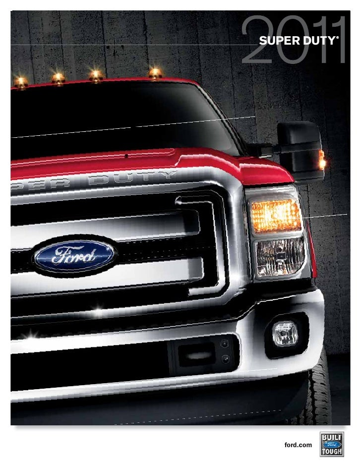 2011 Super Duty Brochure