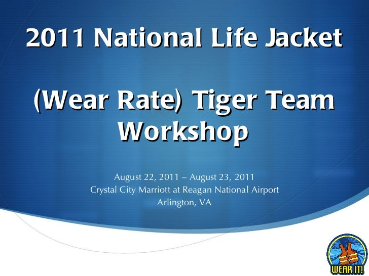 2011 Tiger Team Workshop Presentation