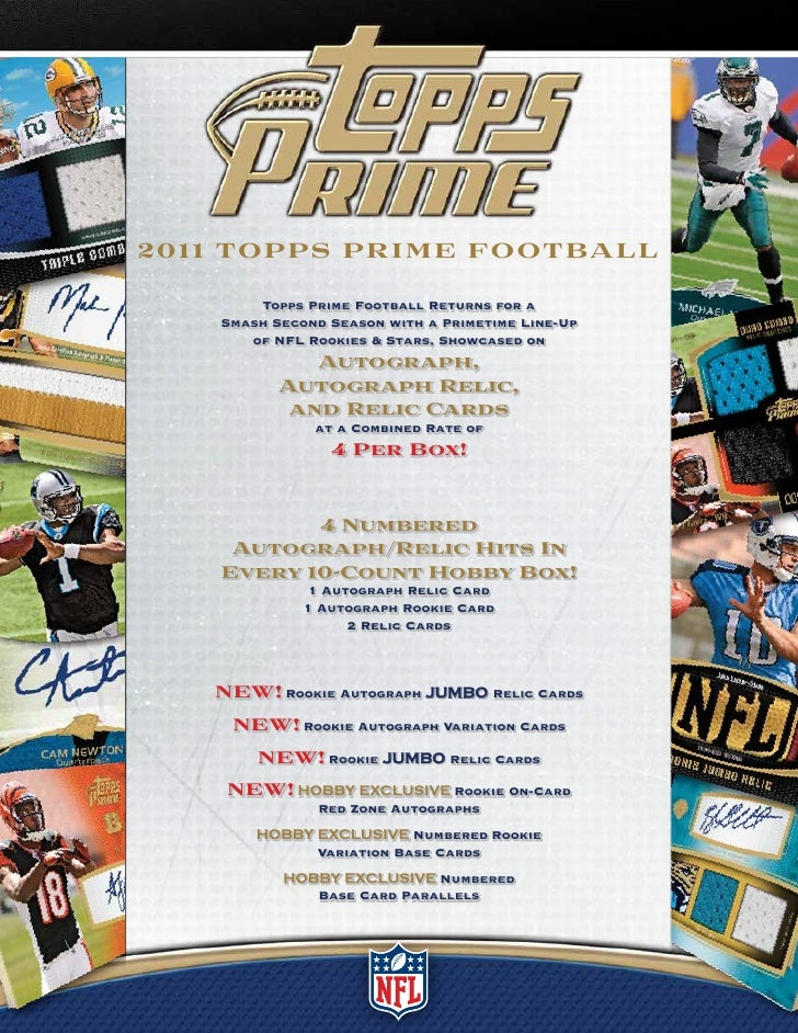 2011 Topps Prime Football