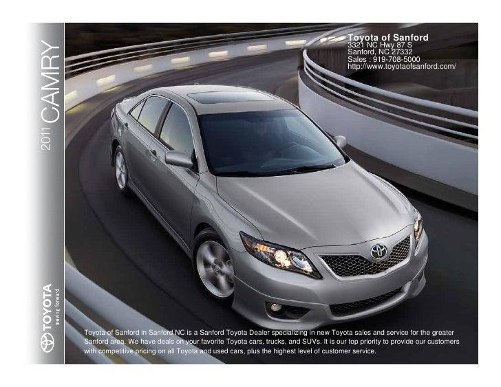 Toyota of Sanford CAMRY 2011                                                                                          3321...