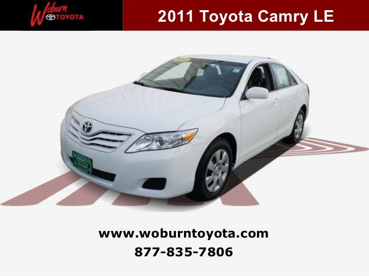 Used 2011 Toyota Camry LE - Boston