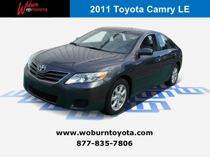 Boston - Used 2011 Toyota Camry LE