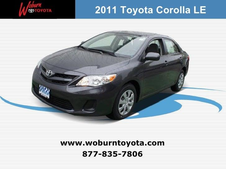 Used 2011 Toyota Corolla LE  – Boston