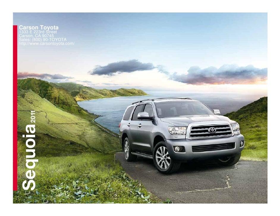 2011 Toyota Sequoia - Carson Toyota  Carson, CA