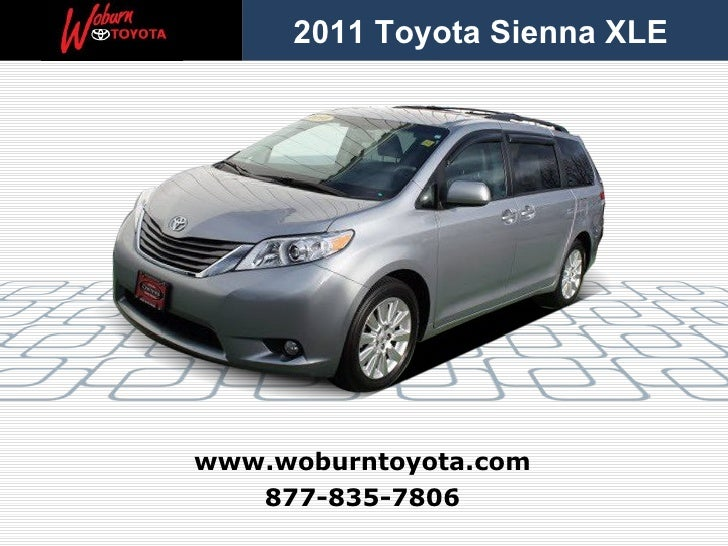 Used 2011 Toyota Sienna XLE AWD – Boston