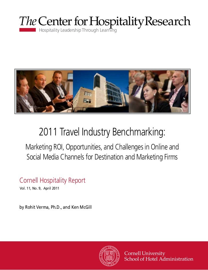 2011 travel industry benchmarking