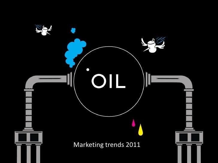 2011 trend analysis