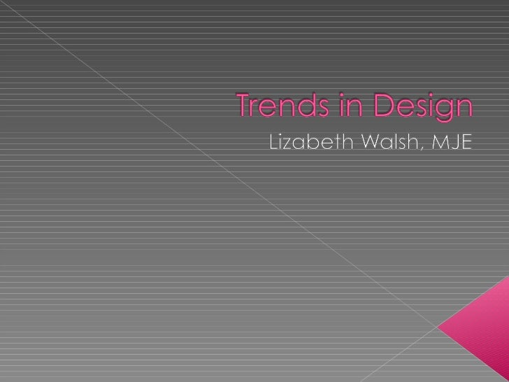 2011 trends