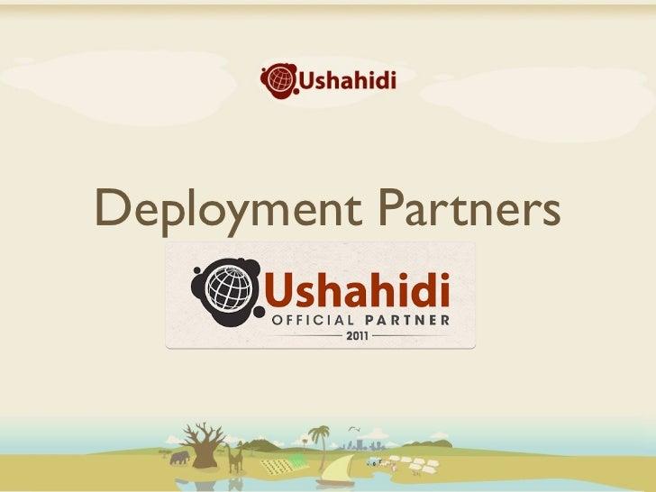 2011 ushahidi deployment-partners