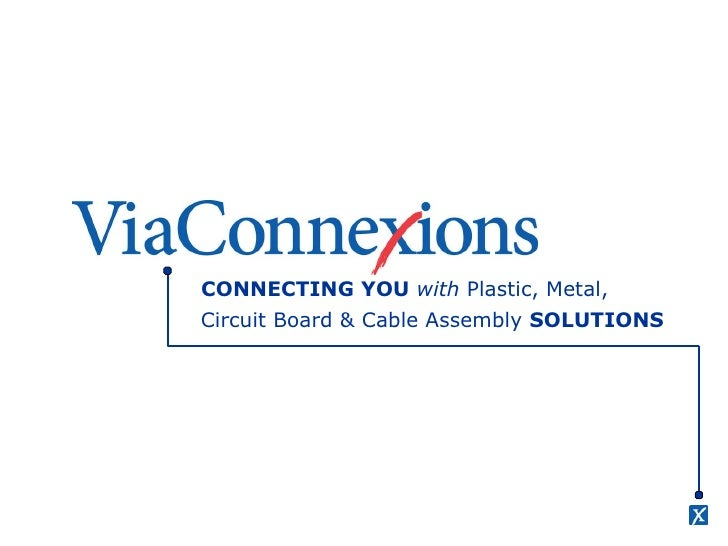 CONNECTING YOU  with  Plastic, Metal, Circuit Board & Cable Assembly  SOLUTIONS