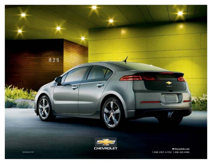 2011 Chevrolet Volt in Grand Forks, ND - Rydell Chevrolet Buick GMC Cadillac