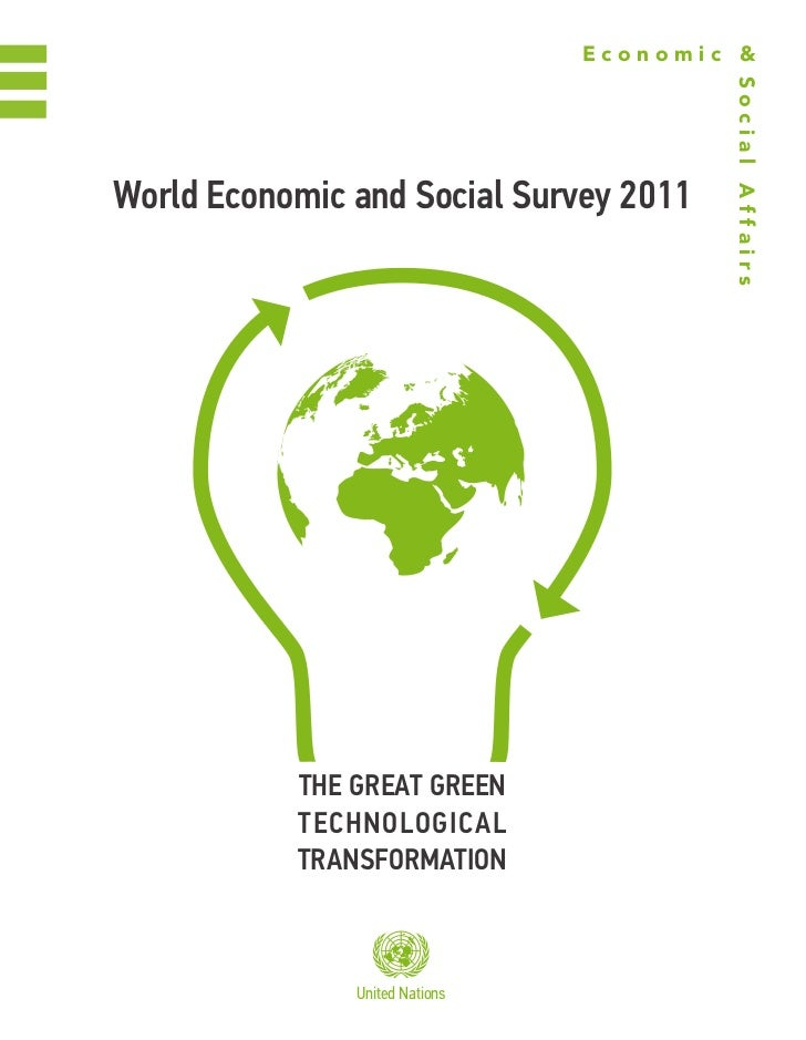 World Economic and Social Survey 2011: The Great Green Technological Transformation