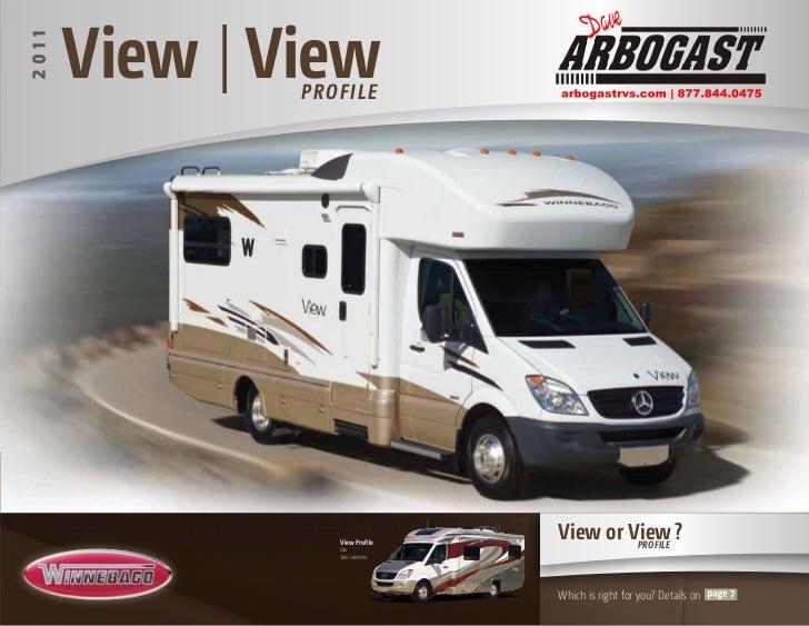 2011 Vew/View Profile Class C Diesel Motorhome