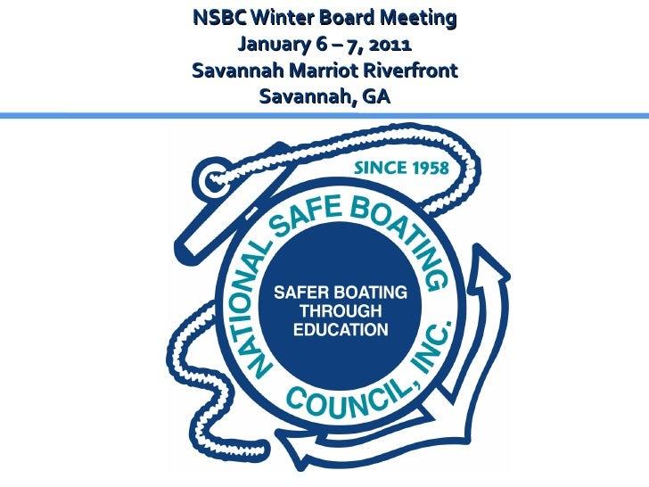 """2011 Winter Board Meeting - """"Wear It!"""" Campaign Update"""