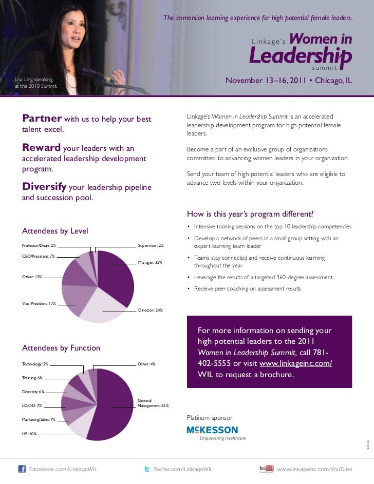 The immersion learning experience for high potential female leaders.Lisa Ling speaking                                    ...