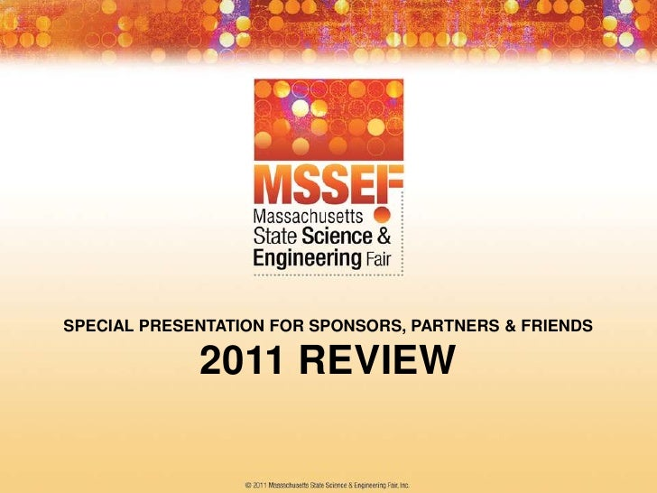2011 MSSEF Year in Review