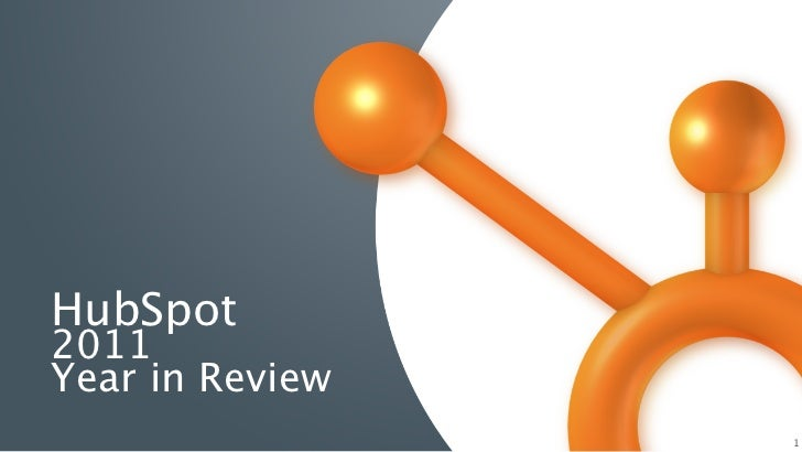HubSpot2011Year in Review                 1