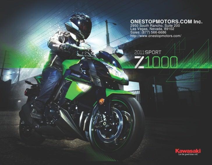 2011 Kawasaki Ninja Z1000 Las Vegas Nv