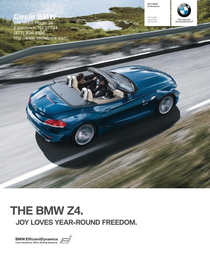 2011 BMW Z4 Roadster Circle BMW NJ