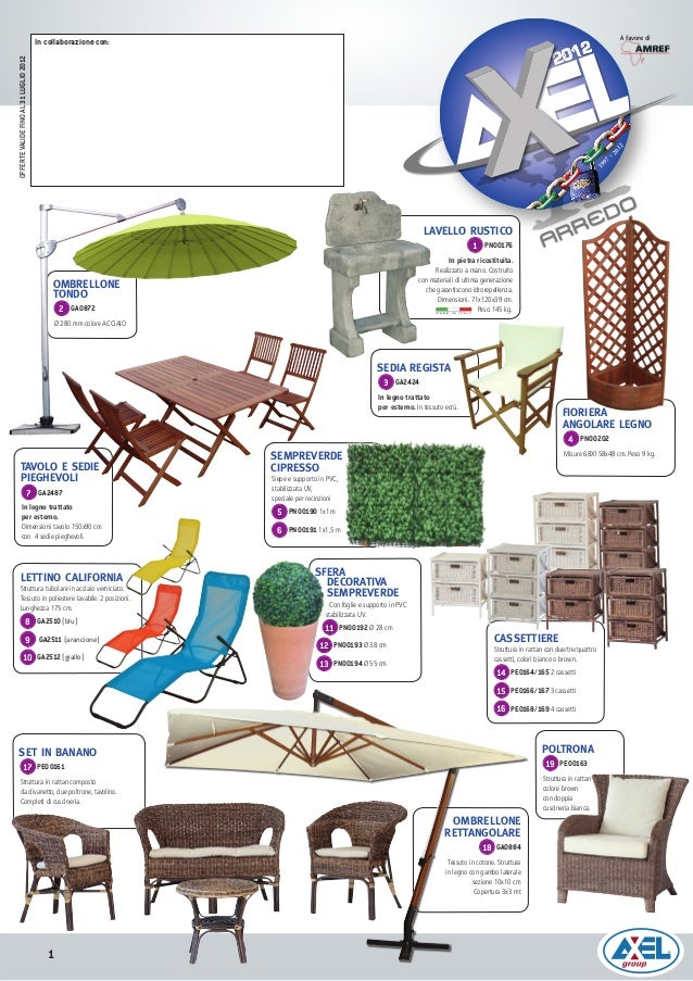 Outdoor forniture flyer folleto muebles de jardin for Folletos de muebles