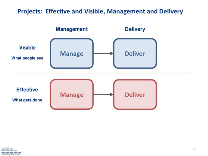 Projects: Effective and Visible, Management and Delivery                  Management          Delivery   Visible          ...