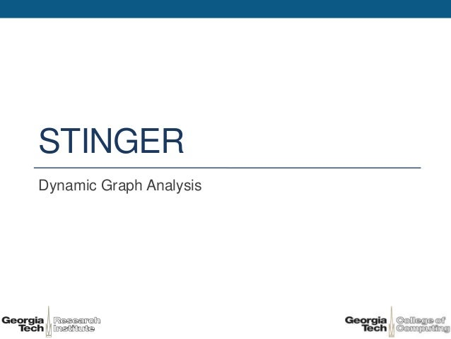 STINGERDynamic Graph Analysis