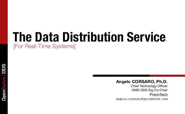The Data Distribution Service                 [For Real-Time Systems]OpenSplice DDS                                       ...