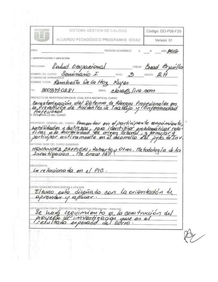 2012.03.03 - Acuerdo Pedag. Salud Ocupacional