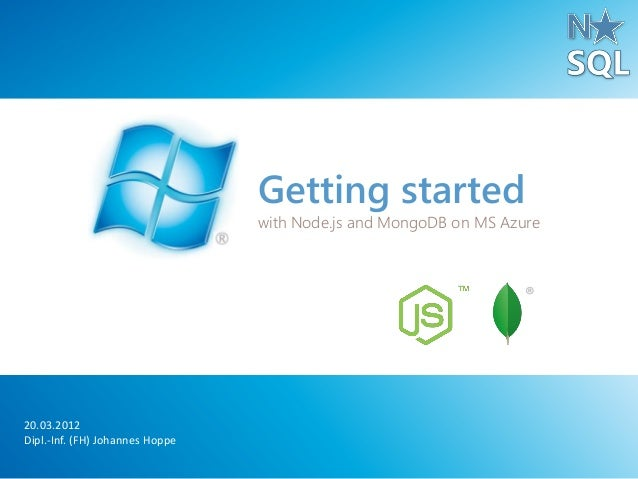 Software Tests with MongoDB