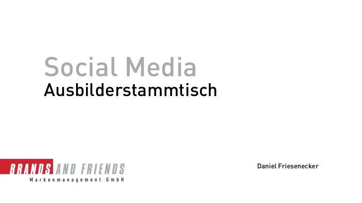 Social Media - Ausbilder - Lehrlinge