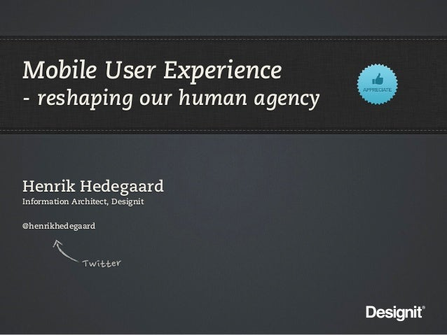 Mobile App Design @ ITU 2012