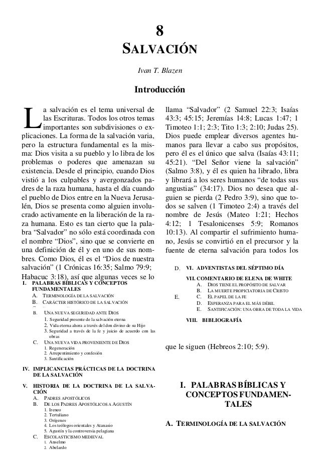 Tratado de Teologia Adventista - Salvacion