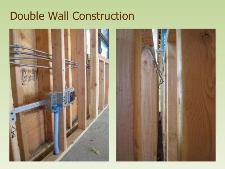 Double Wall Building : Double wall construction