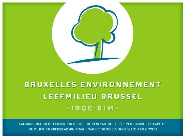 L'obligation de tri des déchets       en Région de Bruxelles-CapitaleFrançoise BonnetDépartement déchets                  ...