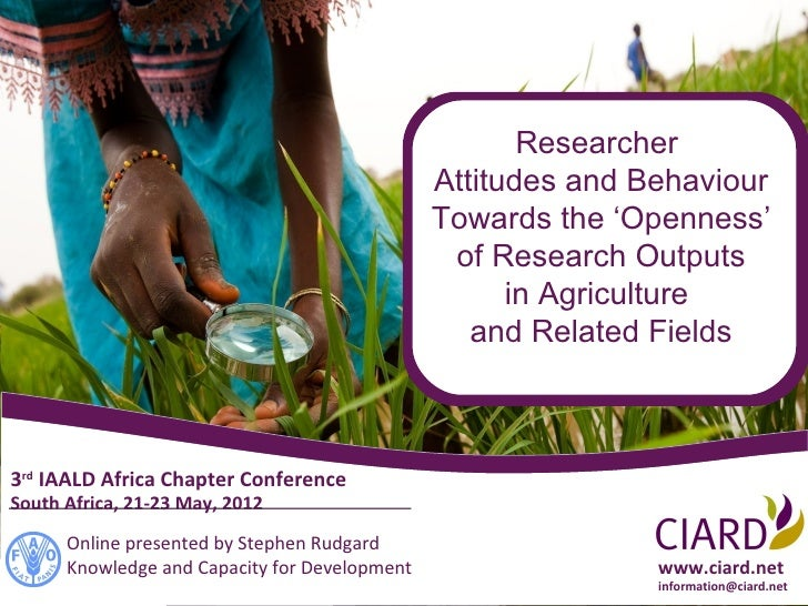 2012 05 CIARD (Paper presented for III IAALD-AFRICA Chapter CONFERENCE)