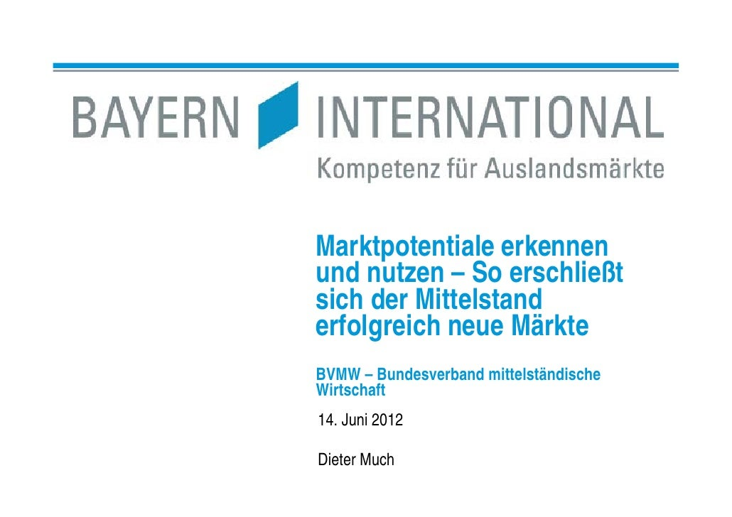 Bayern International Firmenpräsentation