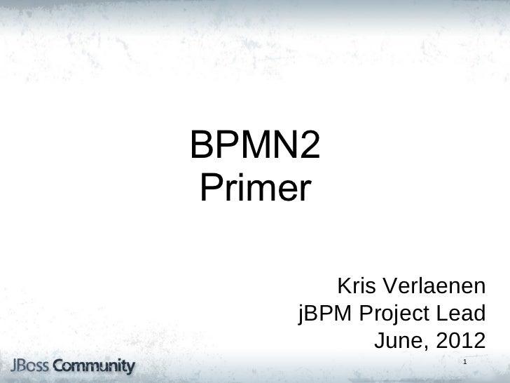BPMN2 primer