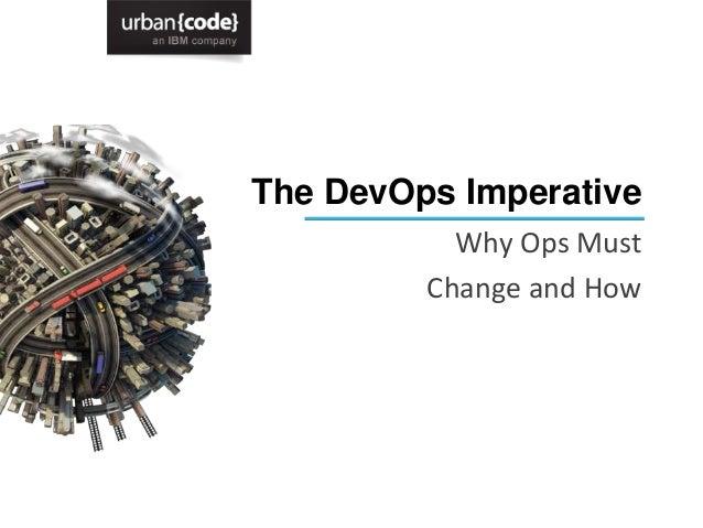 The DevOps Imperative