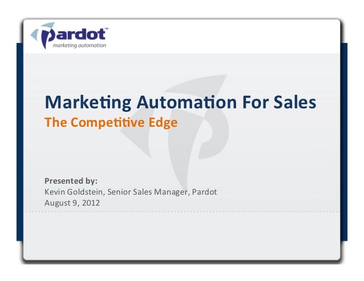 Learn How Marketing Automation Gives Sales Teams the Competitive Edge
