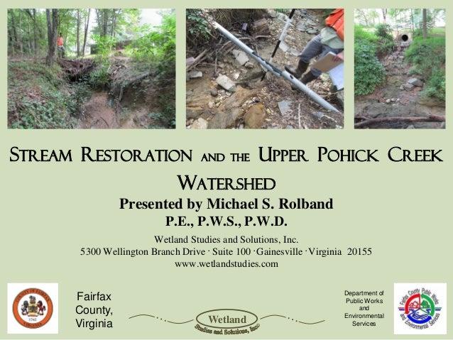Harford Community Stream Restoration 2013