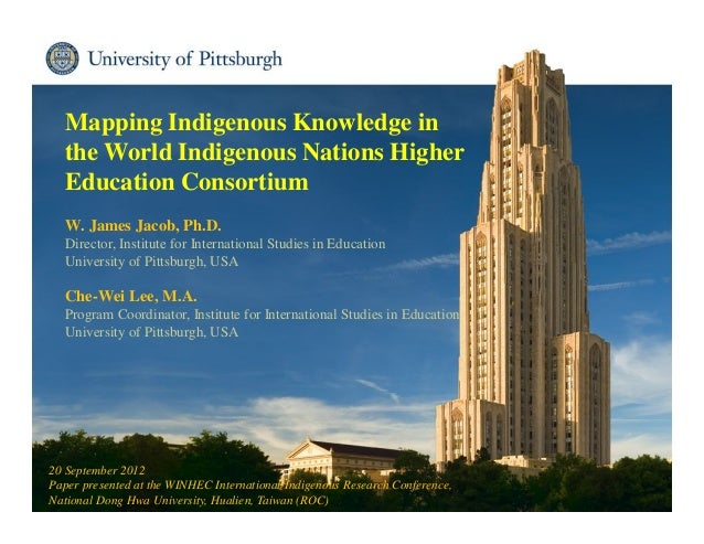 Mapping Indigenous Knowledge in the World Indigenous Nations Higher Education Consortium