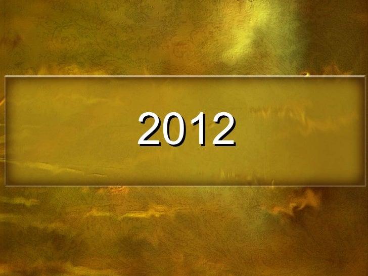 2012 PRIMERA PARTE
