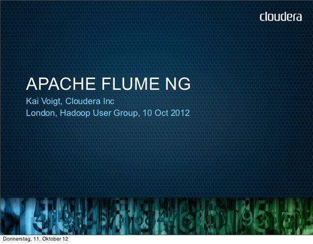 Apache Flume NG