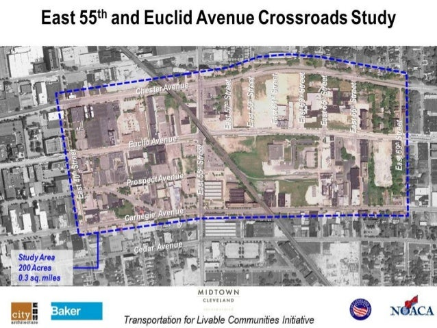 East 55th & Euclid Avenue Crossroads Study Images