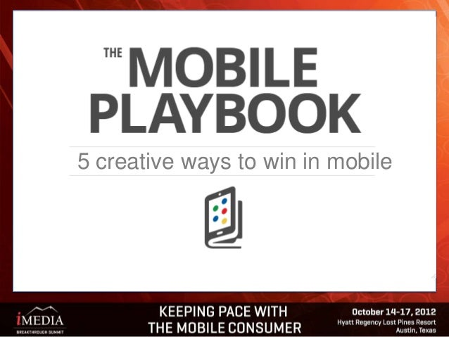 5 creative ways to win in mobile