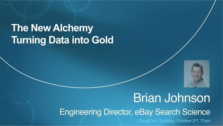CloudCon Data Mining Presentation