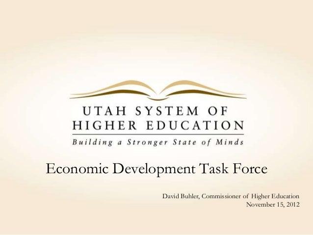 Higher Education as an Economic Enterprise