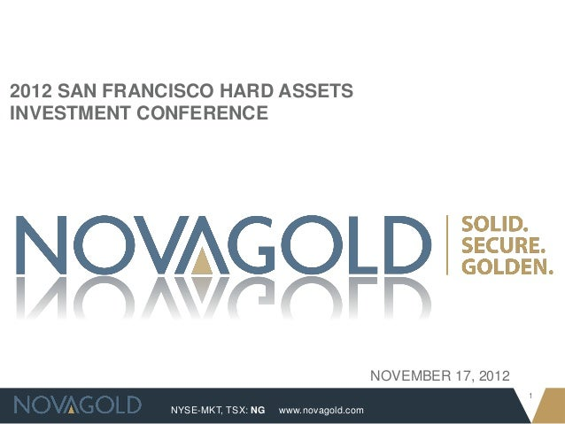 2012 San Francisco Hard Assets Investment Conference