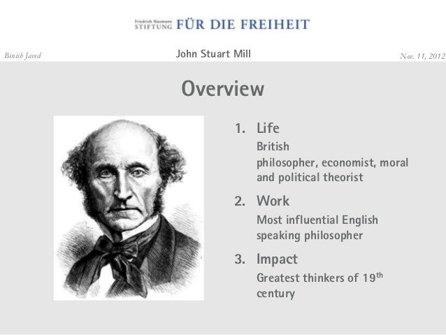an overview of the words by john stuart mill a british imperialist philosopher